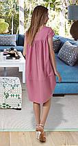 Молодежное котоновое платье, фото 3