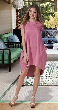 Молодежное котоновое платье, фото 2
