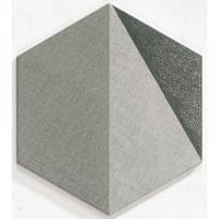 Грес Hextangram Fabric Grey Realonda330x285 (176901)