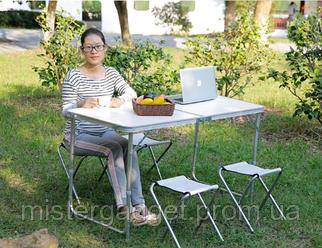Стіл для пікніка Folding Table з 4 стільцями