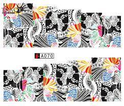 Слайд для дизайна ногтей A070