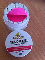 Гель для прорисовки (чистый цвет) 5 мл COCO 102