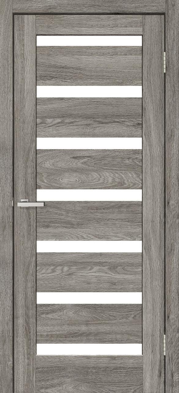 Двери Омис RINO-07. Полотно+коробка+2 к-та наличников+добор 77мм, NATURAL LOOK