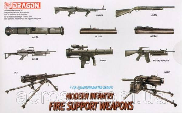 Modern Infantry Fire Support Weapon 1/35 Dragon 3808