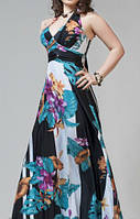 """Экстравагантное платье с завязками на шее """"Анастасия"""" SCANDAL SONYA"""