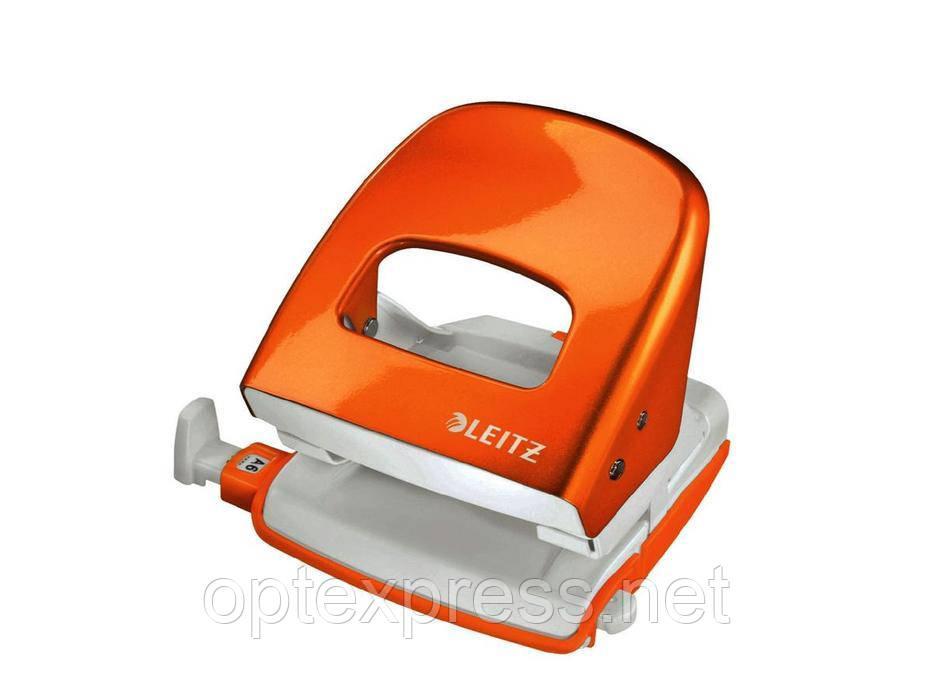 Leitz NeXXt Series WOW офисный дырокол металлический оранжевый металлик
