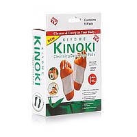 🔝 Чистка организма, пластырь, Kinoki, очистить организм, легко в домашних условиях.10 шт/уп, киноки | 🎁%🚚, фото 1