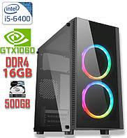 Игровой компьютер  NG i5-6400 V2 / i5-6400 / DDR4-16Gb / HDD-500Gb / GeForce GTX1060