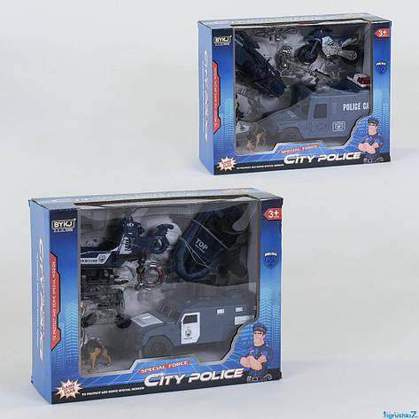 Полицейский набор с транспортом, фото 2