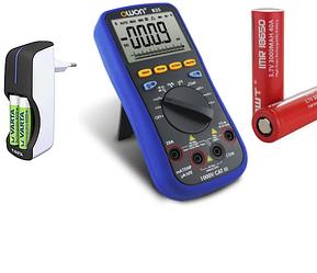 Мультиметры,аккумуляторы и батарейки