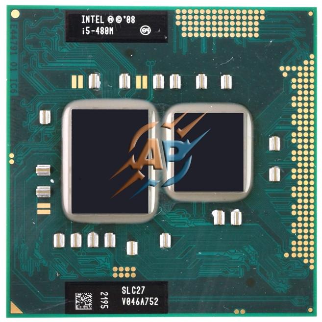 Intel Core i5-480M 2.66 - 2.93 GHz