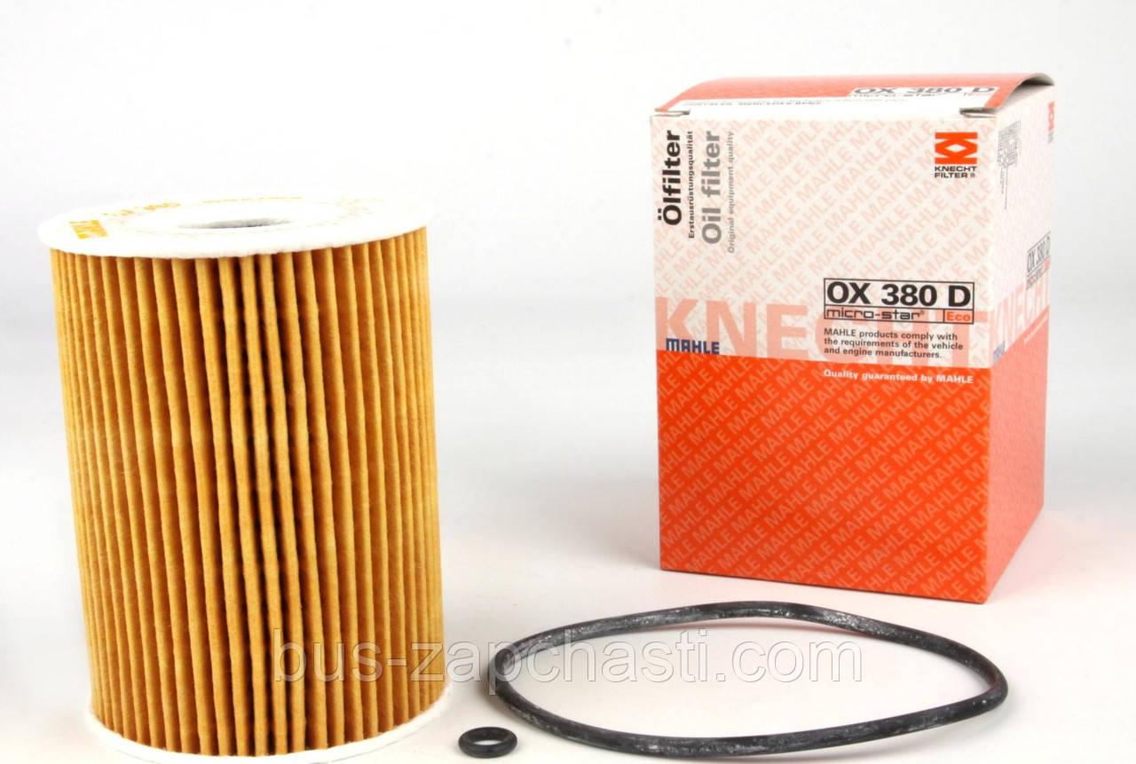 Масляный фильтр на MB Sprinter, Vito 3.0CDI 2006→ OM 642 — KNECHT (Австрия) — OX 380D