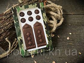 Шоколадные погоны полковника ко Дню защитника