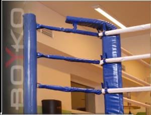 Подушки для ринга угловая треугольная с верхним и нижним загибами Boyko sport