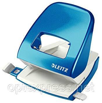 Leitz NeXXt Series WOW офисный дырокол металлический синий металлик