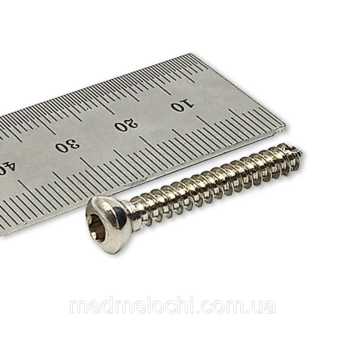 Гвинт кортикальний D=4,5мм, 36мм