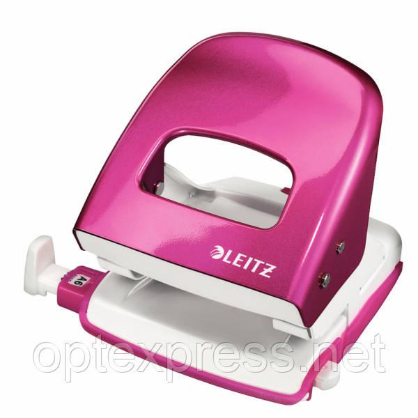 Leitz NeXXt Series WOW офисный дырокол металлический розовый металлик