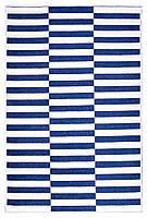 Ковер My Home Moretti Side двусторонний синий полоска, фото 1