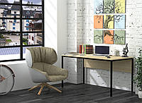 Письменный стол Loft design L-3p  Дуб Борас