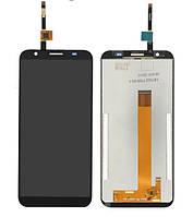 Екран з сенсором (модуль) на DOOGEE X55 Чорний, фото 1