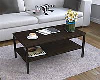 Журнальный кофейный столик L-1 Loft Design Венге Корсика
