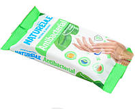 Влажные салфетки Naturelle Antibacterial с экстрактом листья подорожника 48 шт