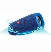 🔝 Беспроводная портативная Bluetooth колонка Charge 3 (качественный аналог JBL) Синяя, для телефона | 🎁скидка