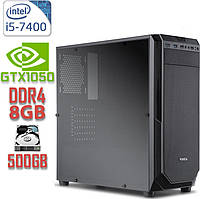 Игровой компьютер NG i5-7400 G2 / i5-7400 / DDR4-8Gb / HDD-500Gb / GeForce GTX1050