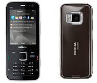 Корпус для Nokia N78, с клавиатурой, черный, оригинал