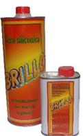 """""""Brillo"""" прозрачный силиконовый воск 0,7л, производство """"Ilpa"""" (Италия)"""