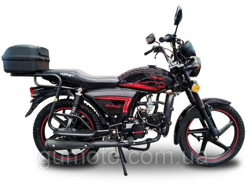 Мотоцикл HORNET Alpha 125 куб.см, черный