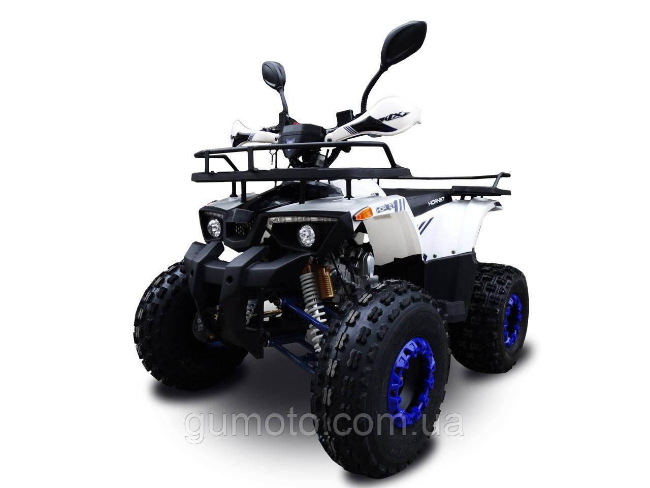Квадроцикл 125 кубов Hornet Bomber бело-синий
