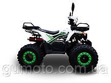 Квадроцикл 125 кубов Hornet Bomber бело-зеленый, фото 3