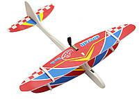 🔝 Планер метательный, детский самолет, на USB Aircraft, цвет - красный, самолет игрушка | 🎁%🚚