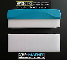МОЧАЛКА для вытирания мела и маркера со сменным блоком