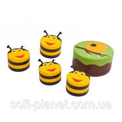 """Детский модульный набор мебели """"Пчелка"""""""