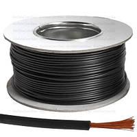 Провод монтажный ПВ-3 (H05V-K) Multicom, 0.75мм², CCA, чёрный, 100м