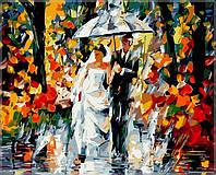 Раскраска по номерам Свадьба под дождем40 х 50 см(VP080)