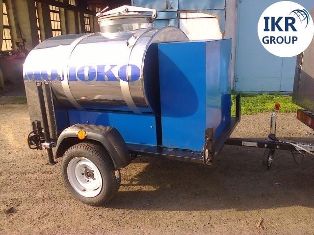 Прицеп для транспортировки молока на 300 литров