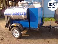 Прицеп для транспортировки молока на 300 литров , фото 1
