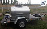 Прицеп для транспортировки молока на 300 литров, фото 2