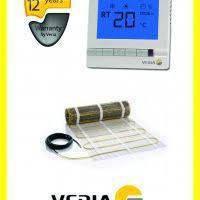 Veria Quickmat 150 1350 Вт (9,0 м2) з терморегулятором, тепла підлога під плитку, фото 1