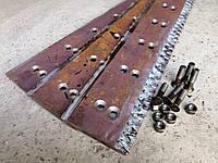 Нож бульдозерный Нож бульдозера ДТ-75, Т-150 (2 ряда отверстий, размер 840*185*16)
