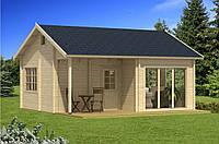 Дом деревянный из профилированного бруса 6х7. Скидка на домокомплекты на 2020 год