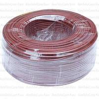 Провод гибкий марки ПВ-3 (H05V-K) Multicom, 1.0мм², Cu, коричневый, в коробке 100м