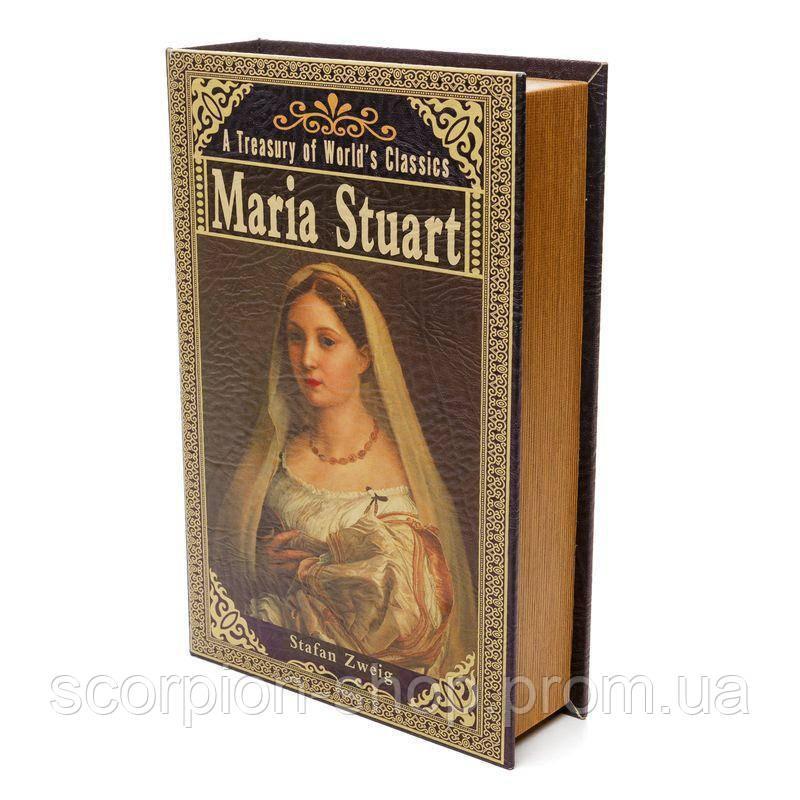 "Книга-сейф ""Maria Stuart"" (33*22*7 см) тайник с ключом"