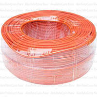 Провод гибкий марки ПВ-3 (H05V-K) Multicom, 1.0мм², Cu, oранжевый, в коробке 100м