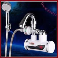 Електричний кран-водонагрівач з душем