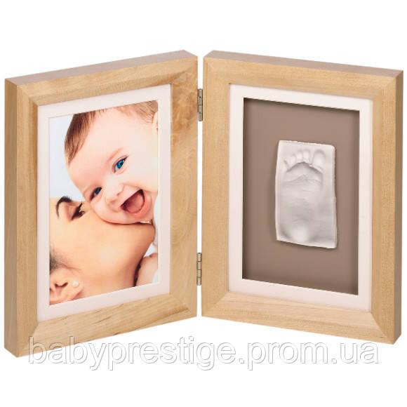 Набор для оттиска ручек и ножек Baby art Print Frame natural