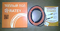 Одножильный нагревательный кабель Ratey 0,82 (4,1-5,5 м2)